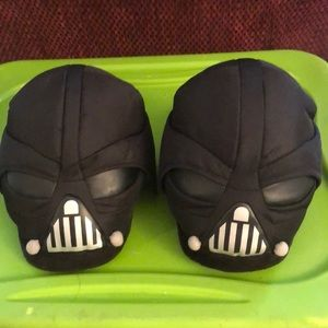 Star Wars Darth Vader slippers size large